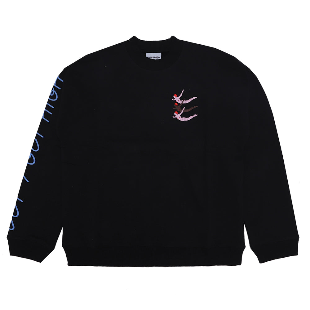 Let's Get High Sweater Black