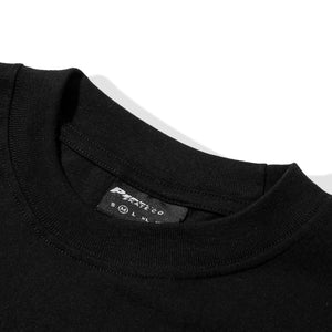 Above The Sky LS Tee Black