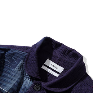 Load image into Gallery viewer, Nomad Coverall Sashiko Woven Navy