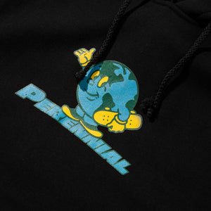 Skate The Earth Hoodie Black