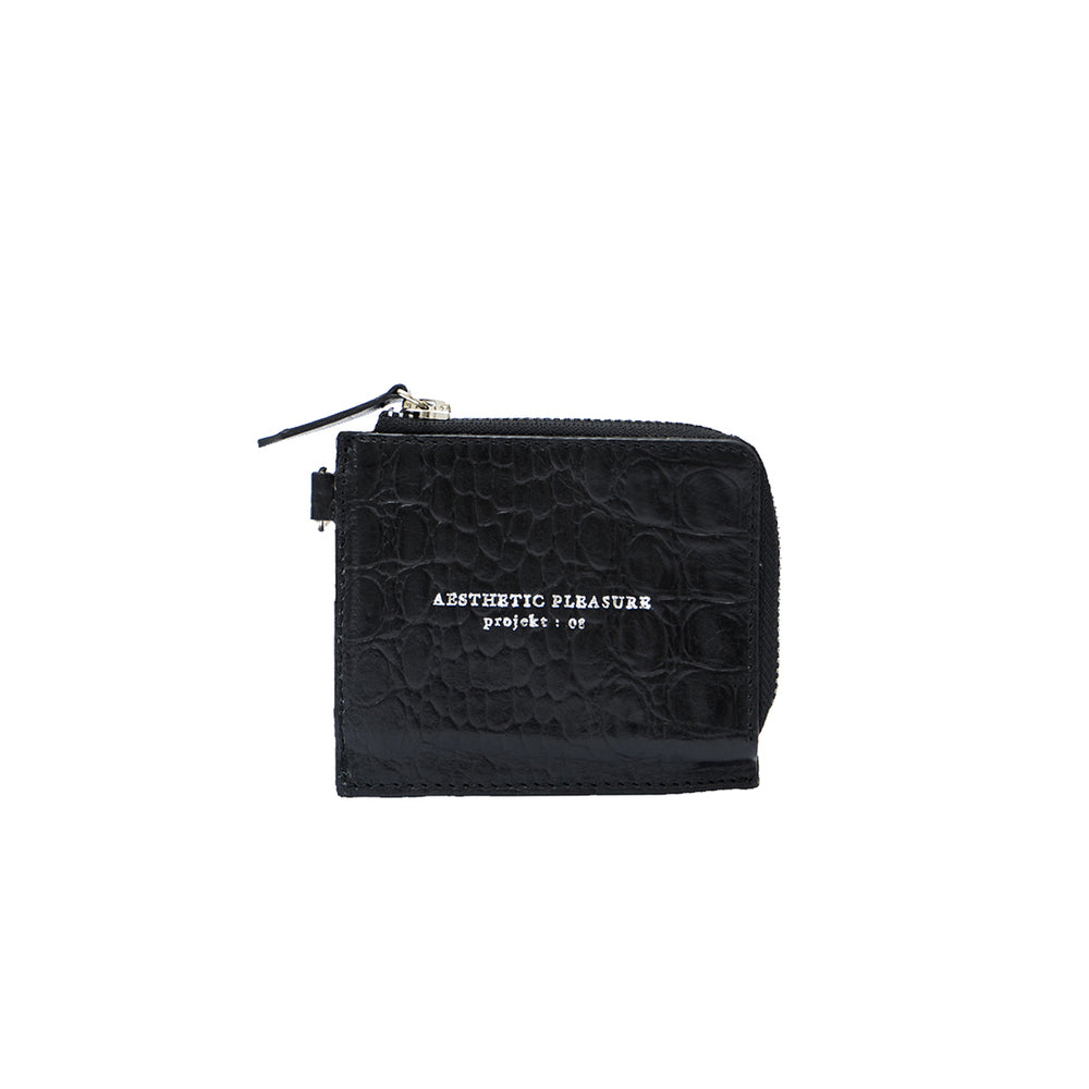 Gauss Lanyard Cardwallet Croc Black