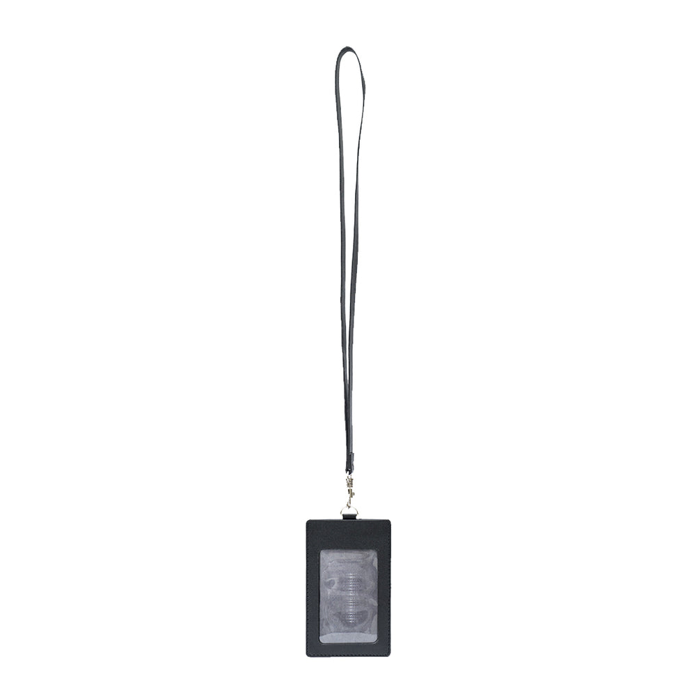 Load image into Gallery viewer, Dente Lanyard Cardholder Black