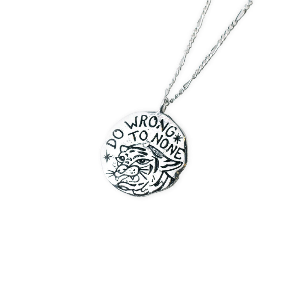 Be Kind Necklace Silver