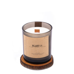 Wood Wick Candle Blanc 05