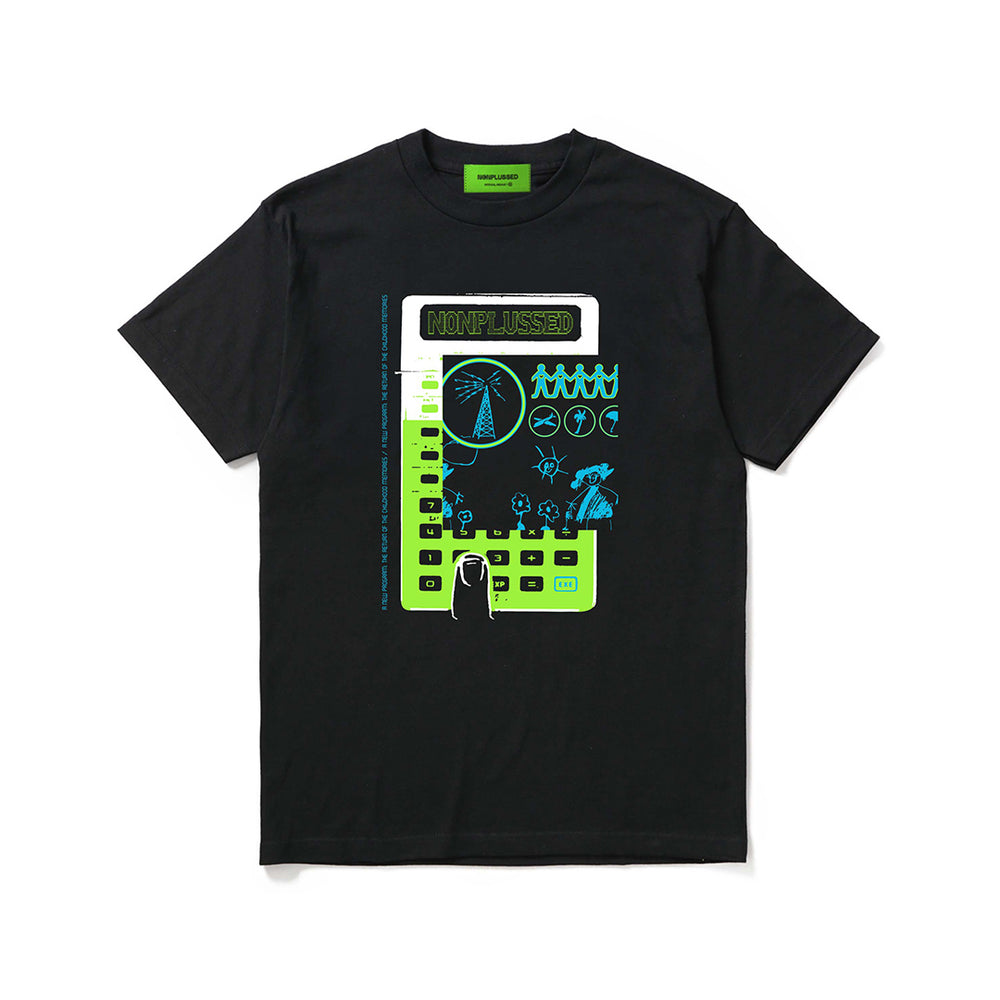 Childhood Black T-Shirt