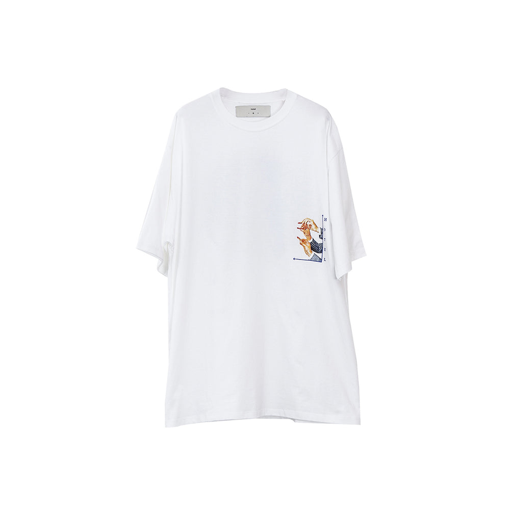 Load image into Gallery viewer, Worst Way White T-Shirt
