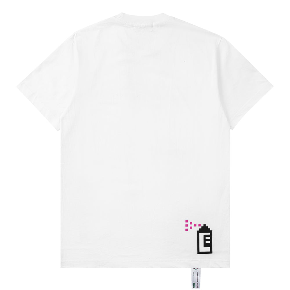 Load image into Gallery viewer, Hole White T-shirt