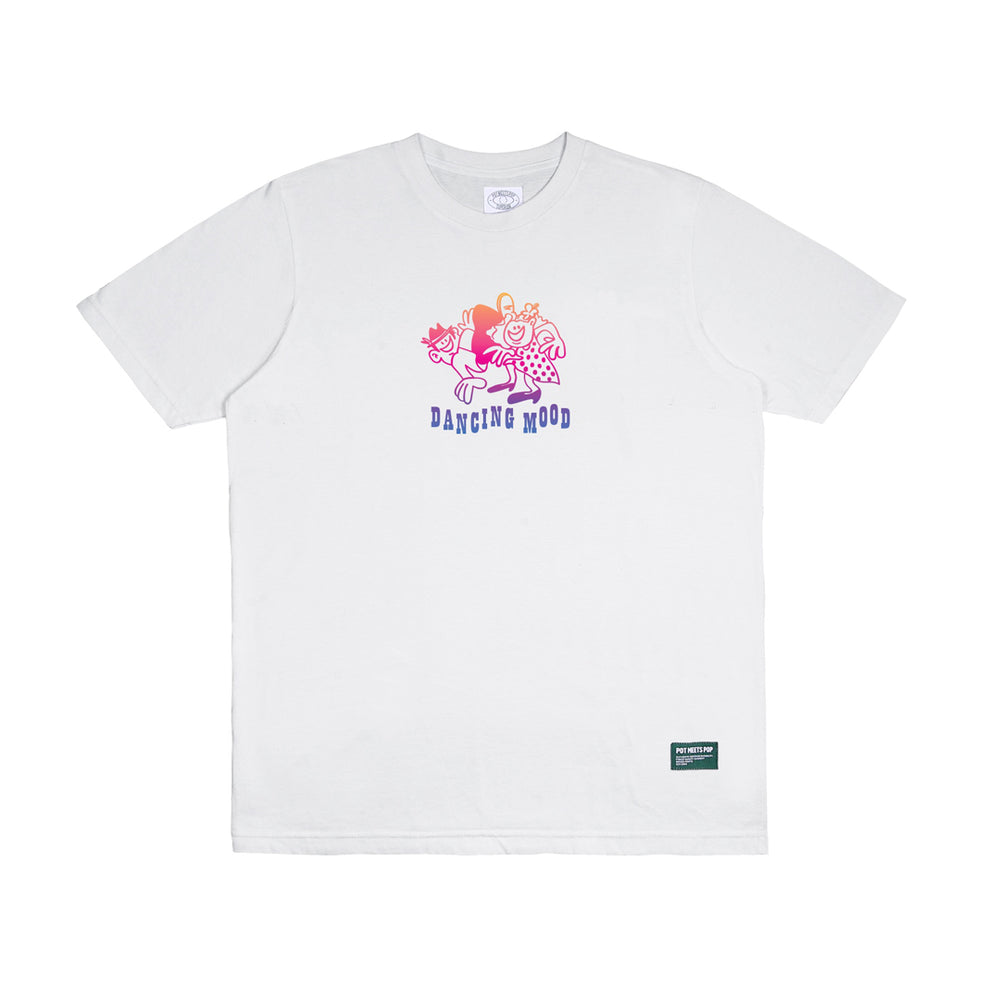 Dancing Mood Tee White