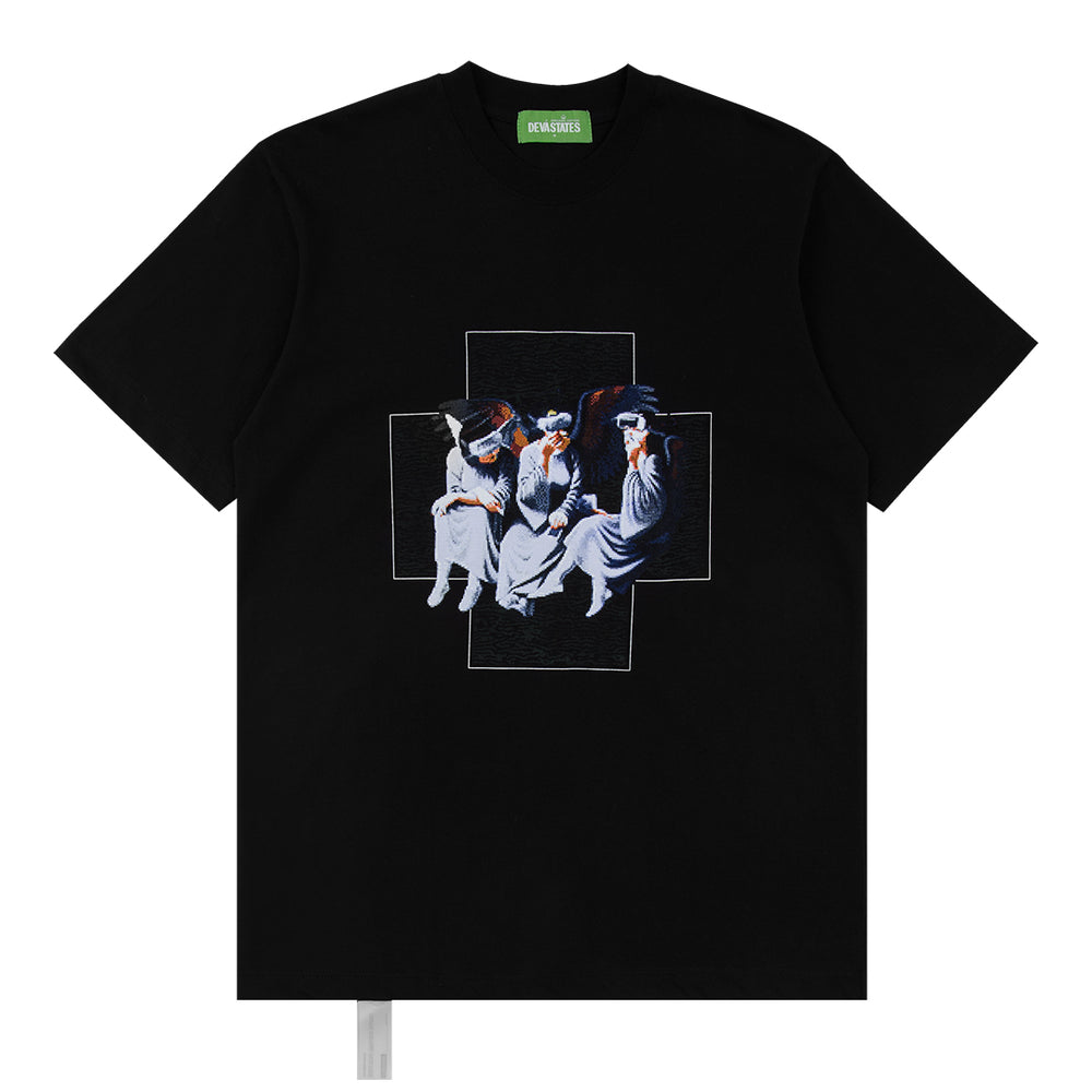 Load image into Gallery viewer, Divine Black T-shirt