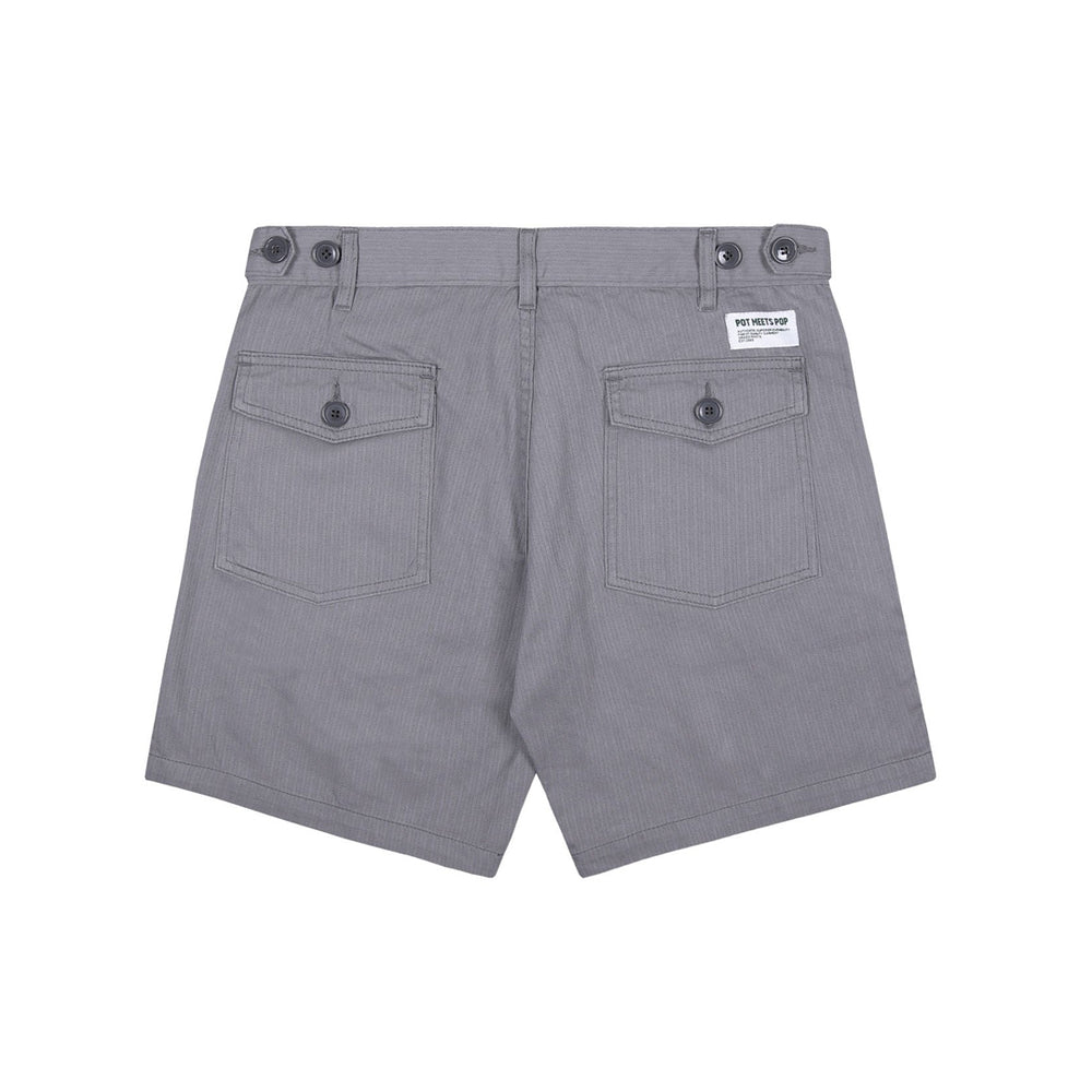 Fatty Fatigue Shorts Silver