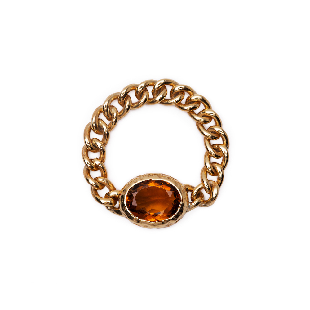 Gaze Ring Gold Plated