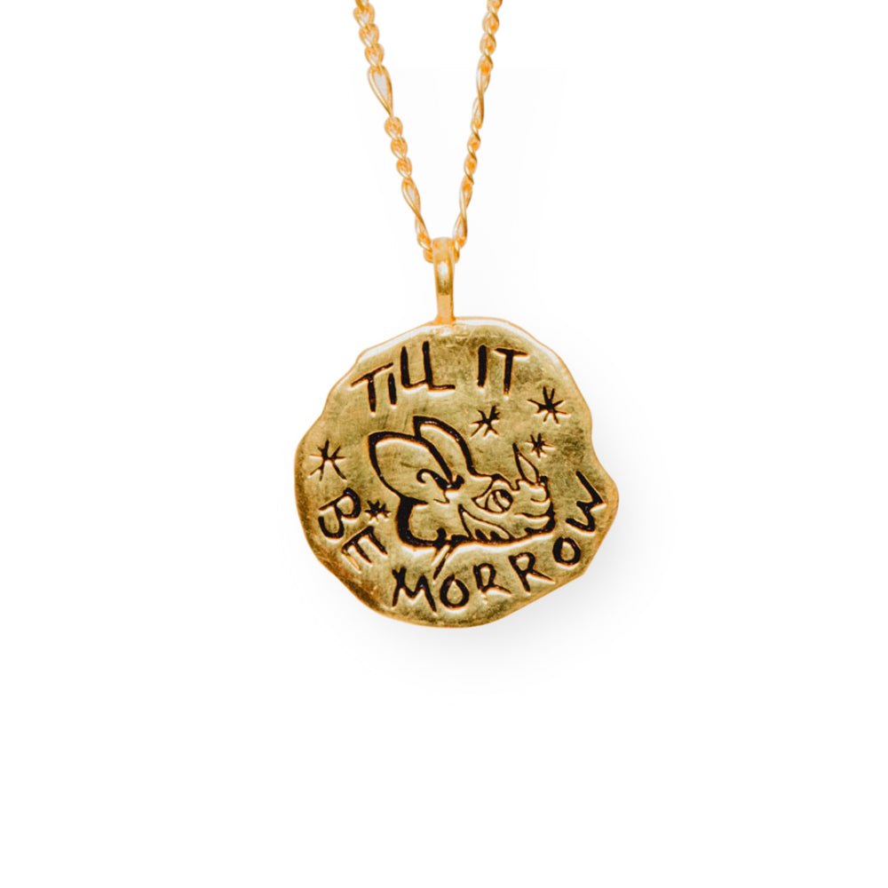 Morrow Necklace Gold