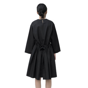 Load image into Gallery viewer, Holly Dress Cotton Black