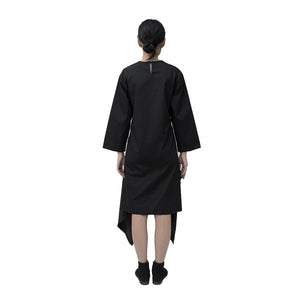 Holly Dress Cotton Black