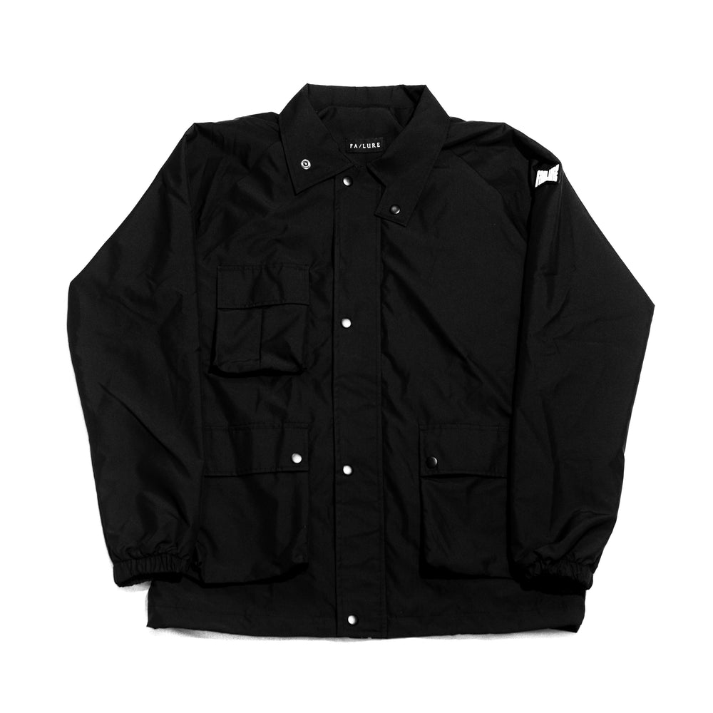 Materiel 3 Pocket Coach Jacket Black