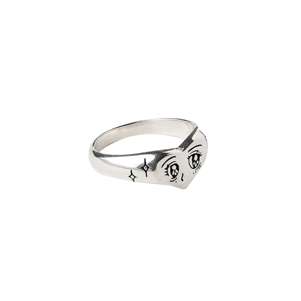 Load image into Gallery viewer, Kokoro Ring Silver
