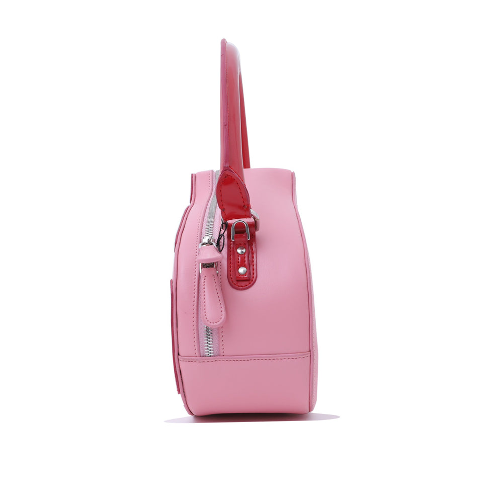 Pink Cow Bag Pink Red