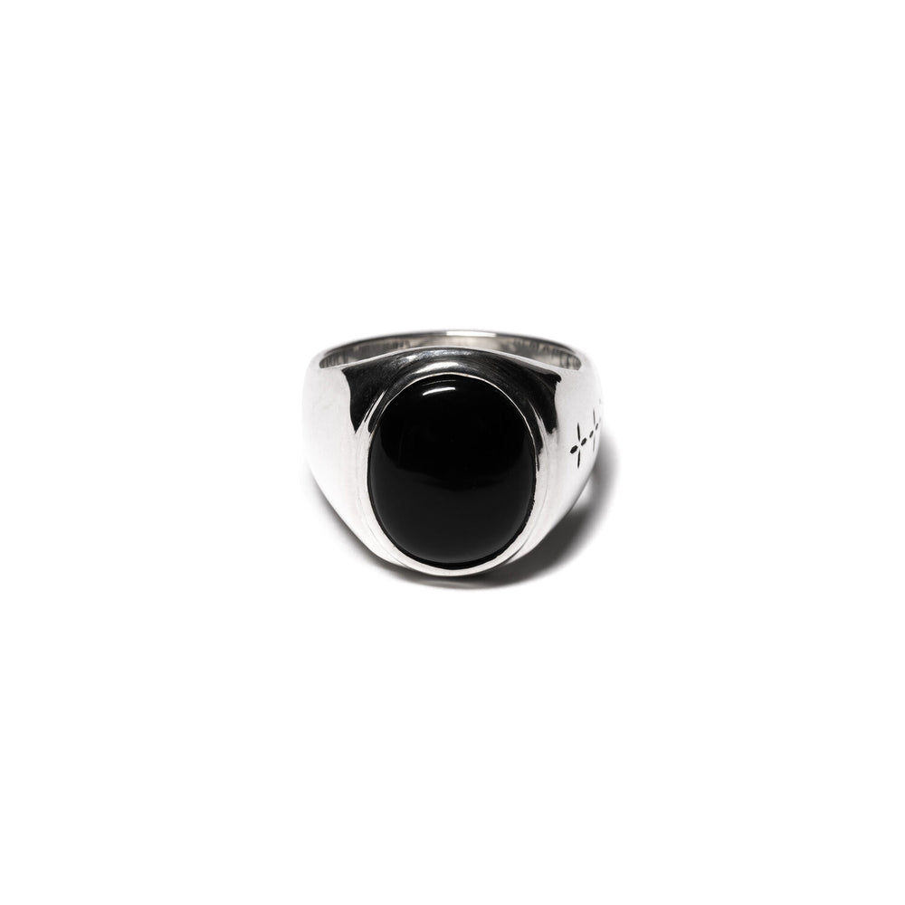 Tommy Signet Ring (Silver/Onyx)