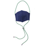 Aiueo Navy Mask Head Loop 3 Navy
