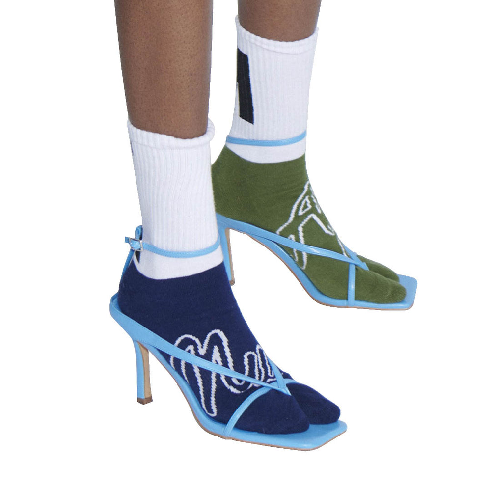 Load image into Gallery viewer, Nu/Age Sports Socks Multicolor