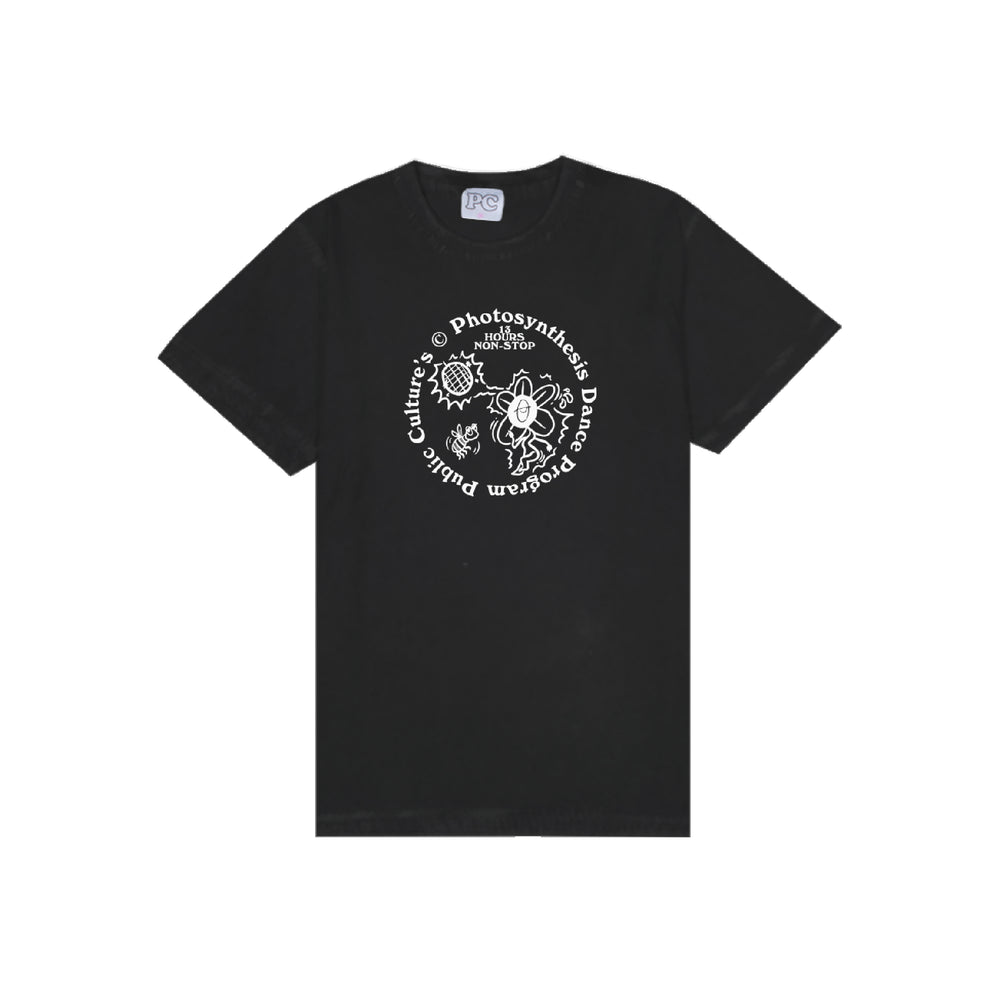 Photosynthesis Acid Wash Tee Black