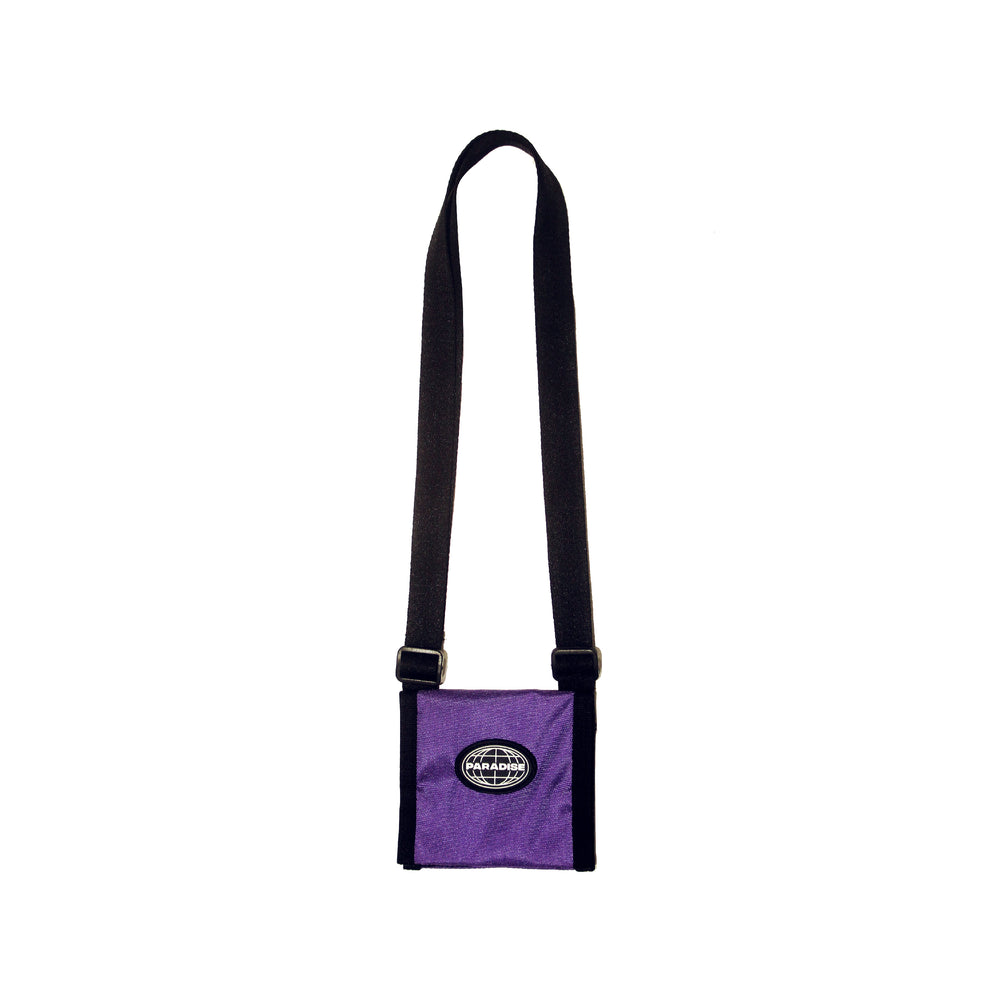 Paradise Shoulder Mini Wallet Purple