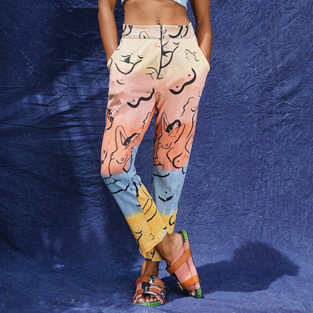 Relax Pants Multicolor