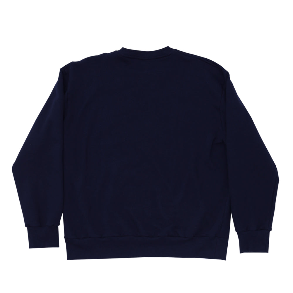 Load image into Gallery viewer, DS Script Navy Crewneck
