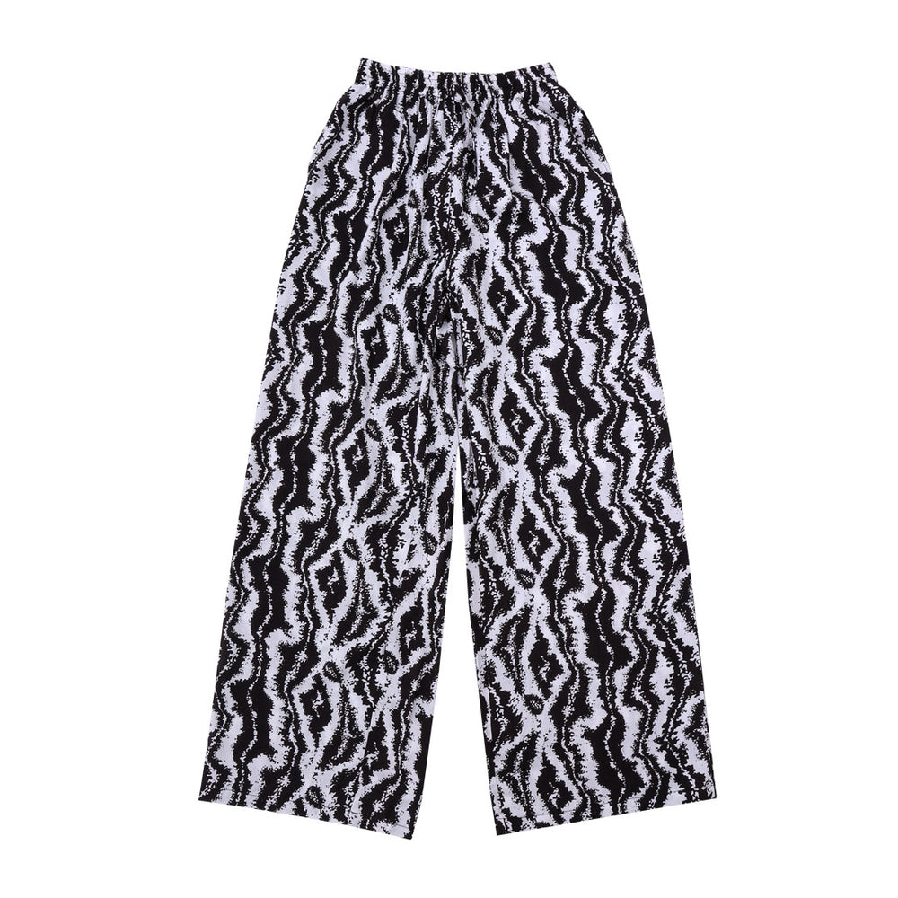 Sahara Pants Black White