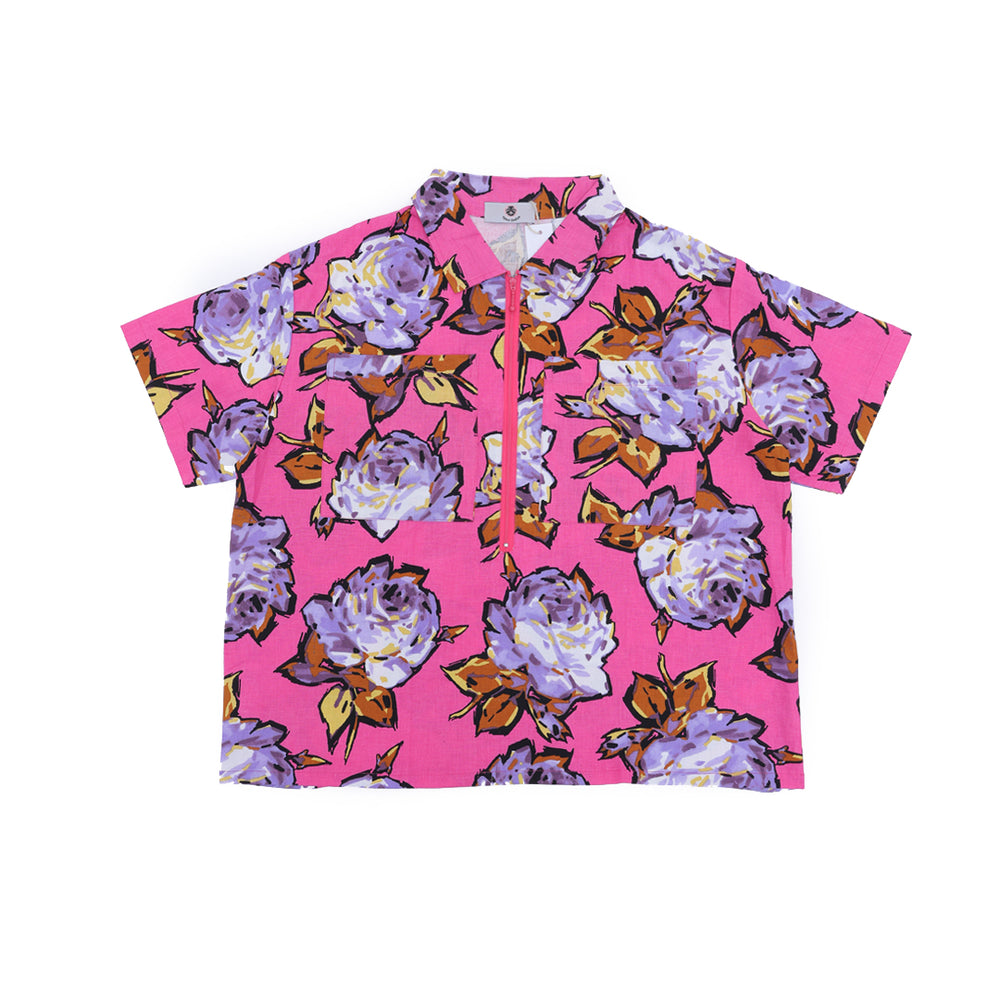 Load image into Gallery viewer, Rosa Shirt Flower Multicolor