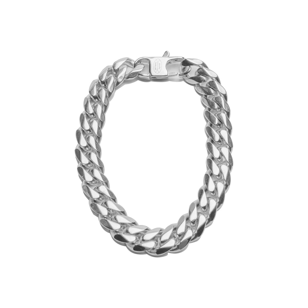 Load image into Gallery viewer, Ferg Silver Bracelet - 17.5