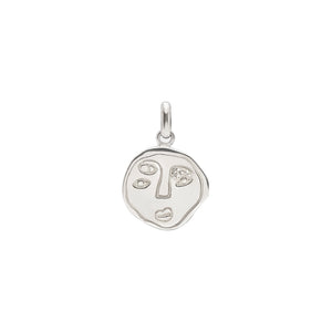 Eye In You Pendant Silver
