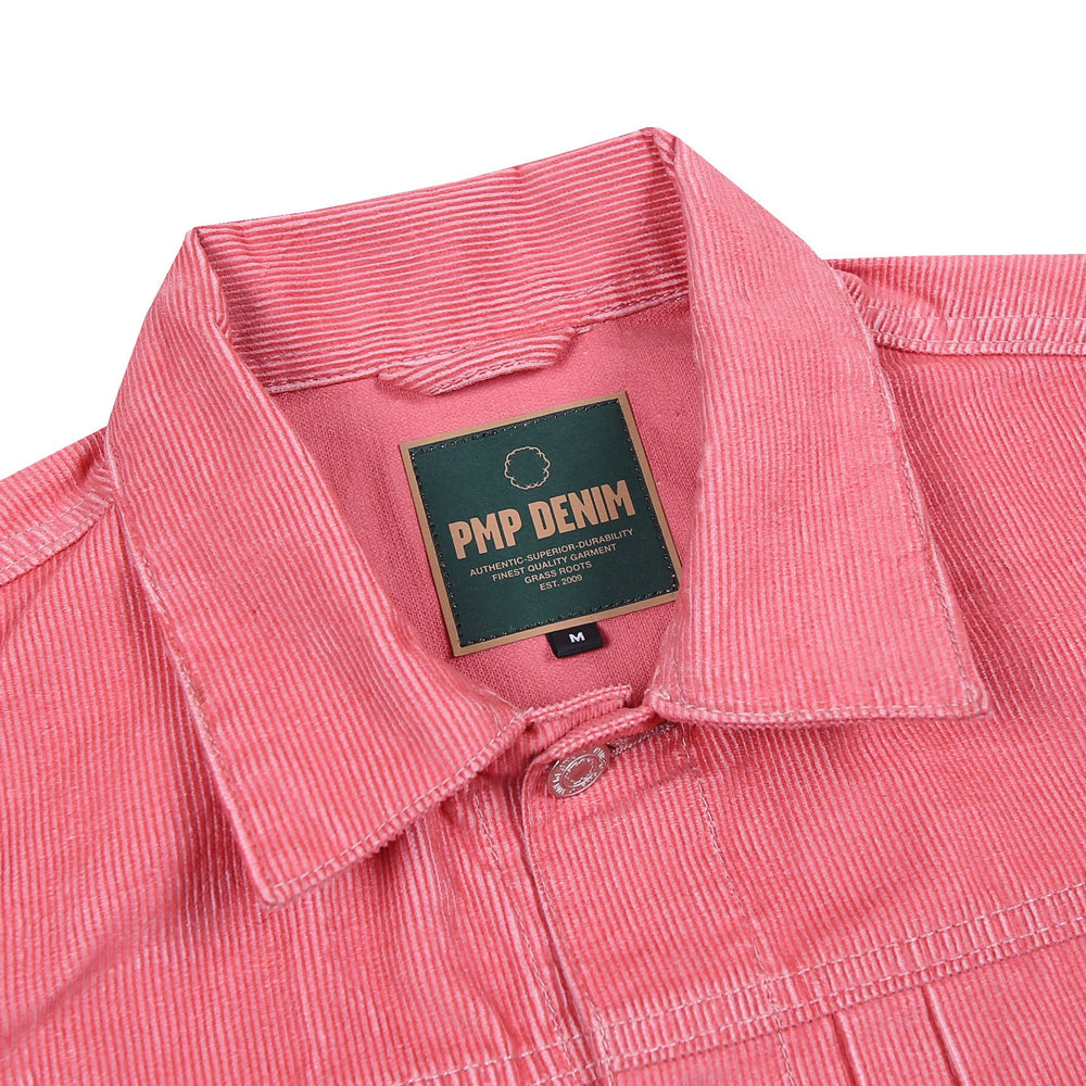 Super Skunk Corduroy Jacket Salmon