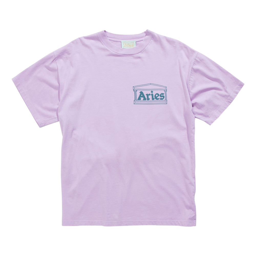 Classic Temple SS T-shirt Pink