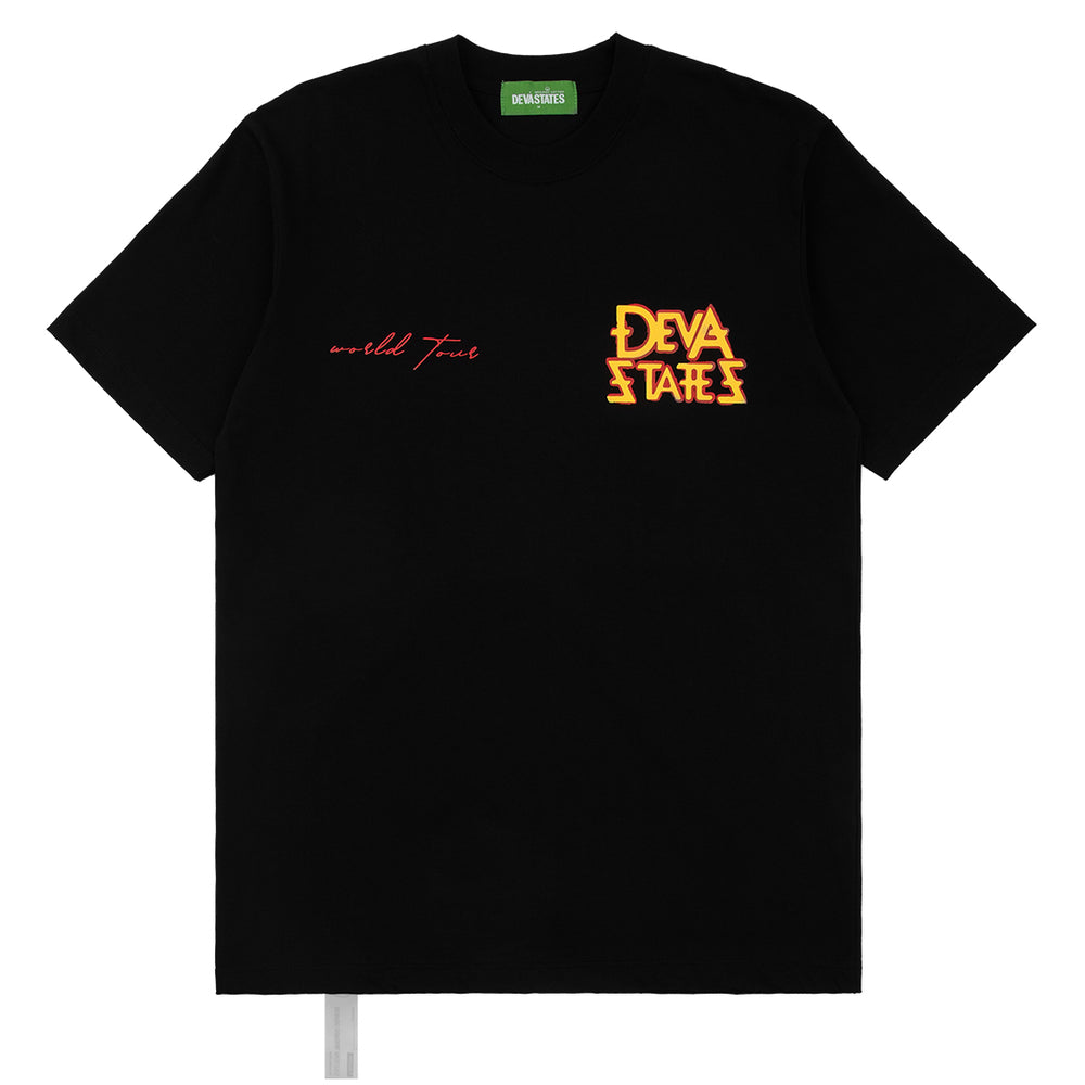 Load image into Gallery viewer, Tour Black T-Shirt