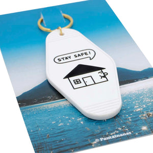 Load image into Gallery viewer, Stay Safe Motel Keychain