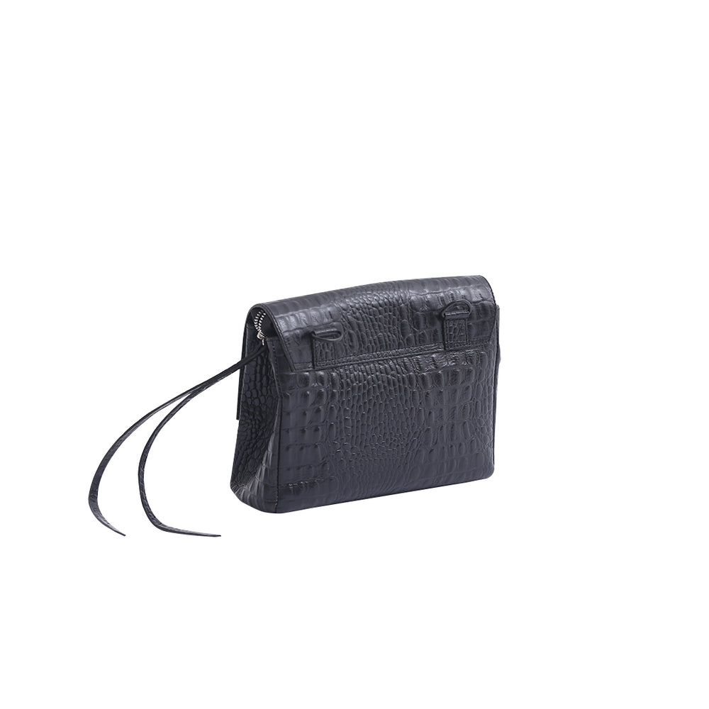Load image into Gallery viewer, Cassels Croc Black