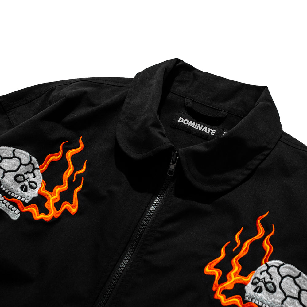 Load image into Gallery viewer, Flame Souvenir Jacket