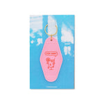 Stay Sane Motel Keychain