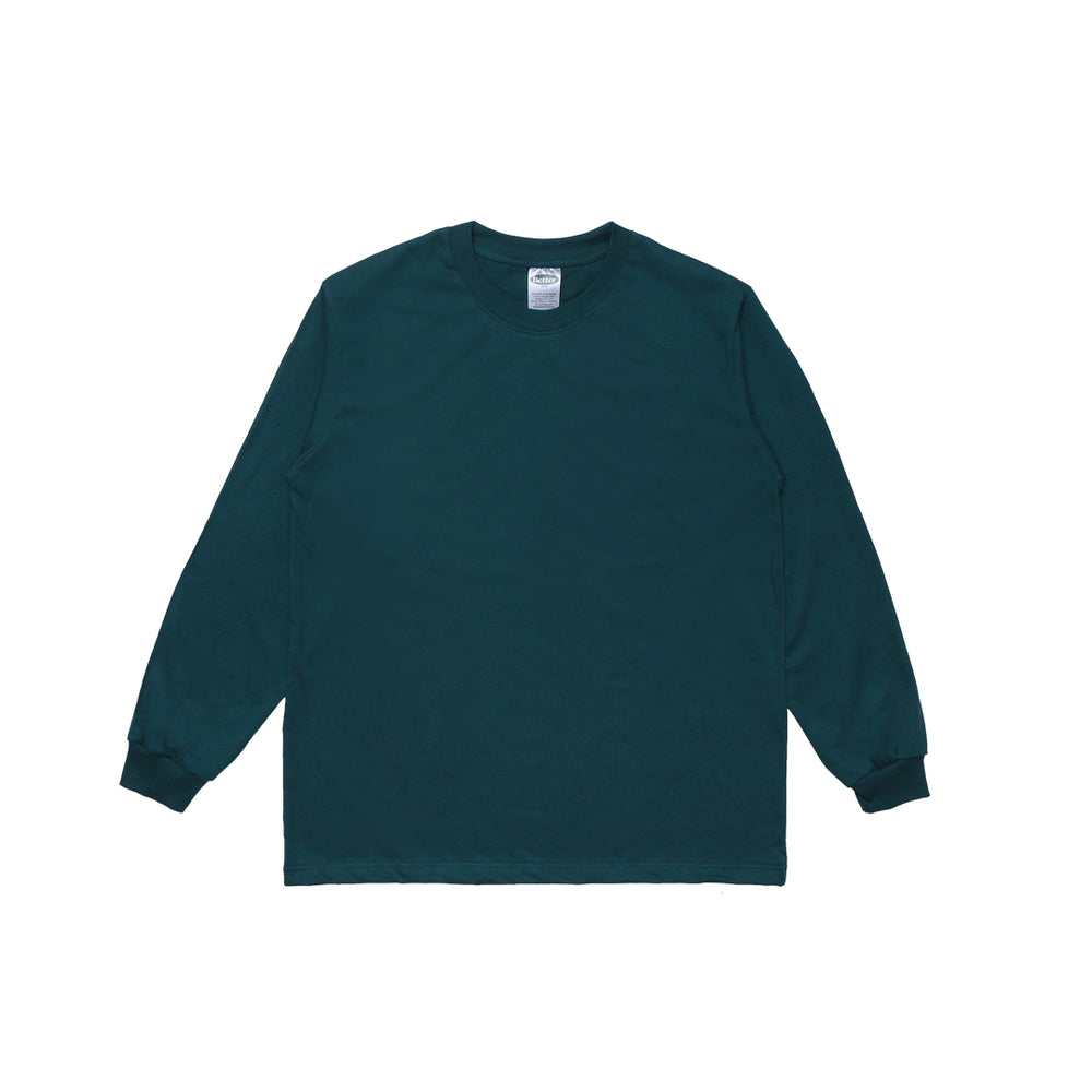 Load image into Gallery viewer, Bettergoods Pine Green Longsleeve Tee