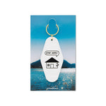 Stay Safe Motel Keychain