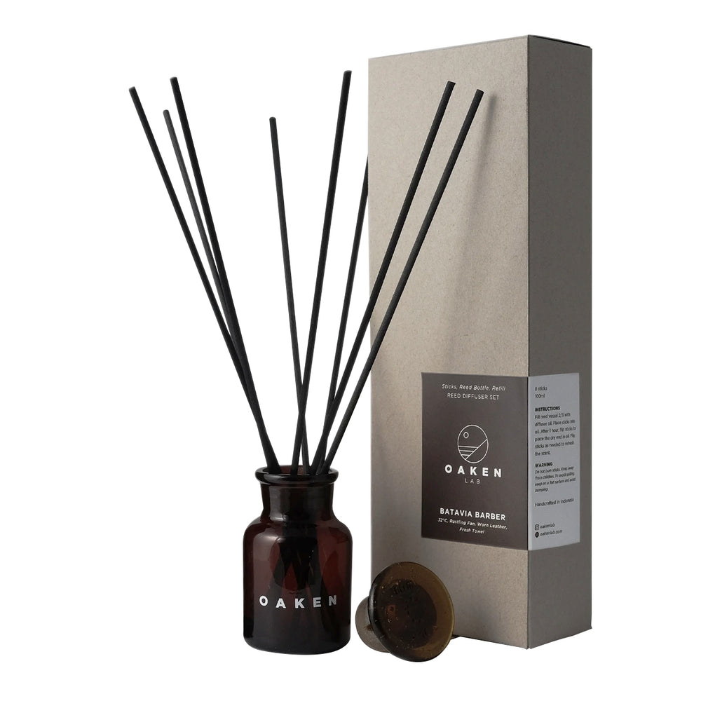 Load image into Gallery viewer, Reed Diffuser Batavia Barber