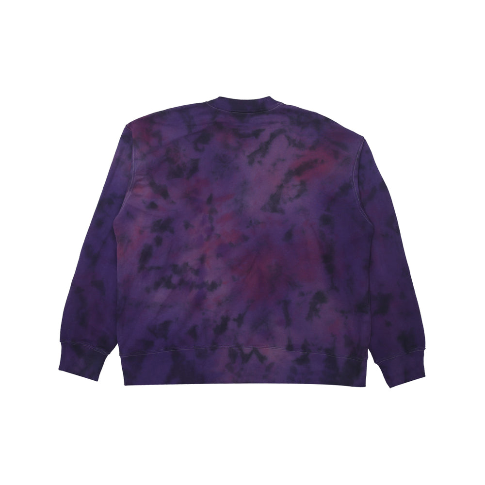 Love Love Machine Crewneck Tie Dye Purple