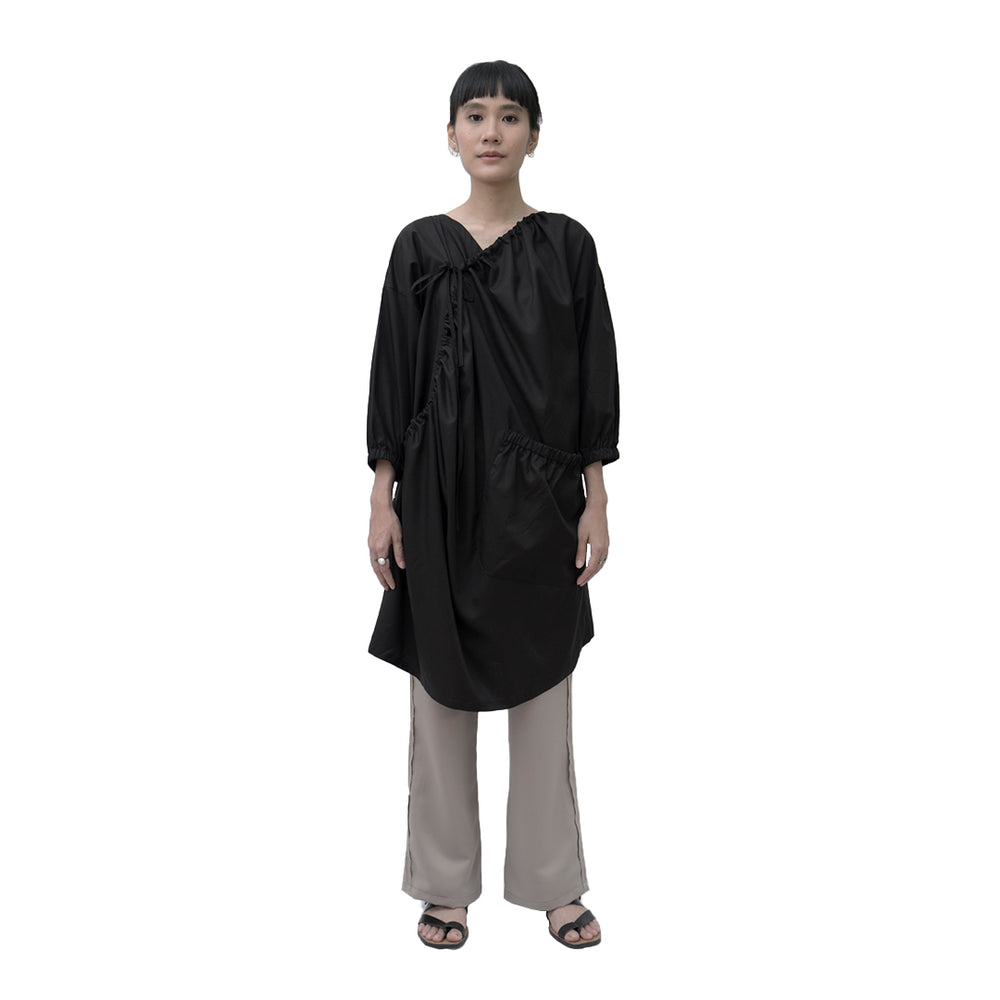 Load image into Gallery viewer, Sunn Kimono Cotton Black