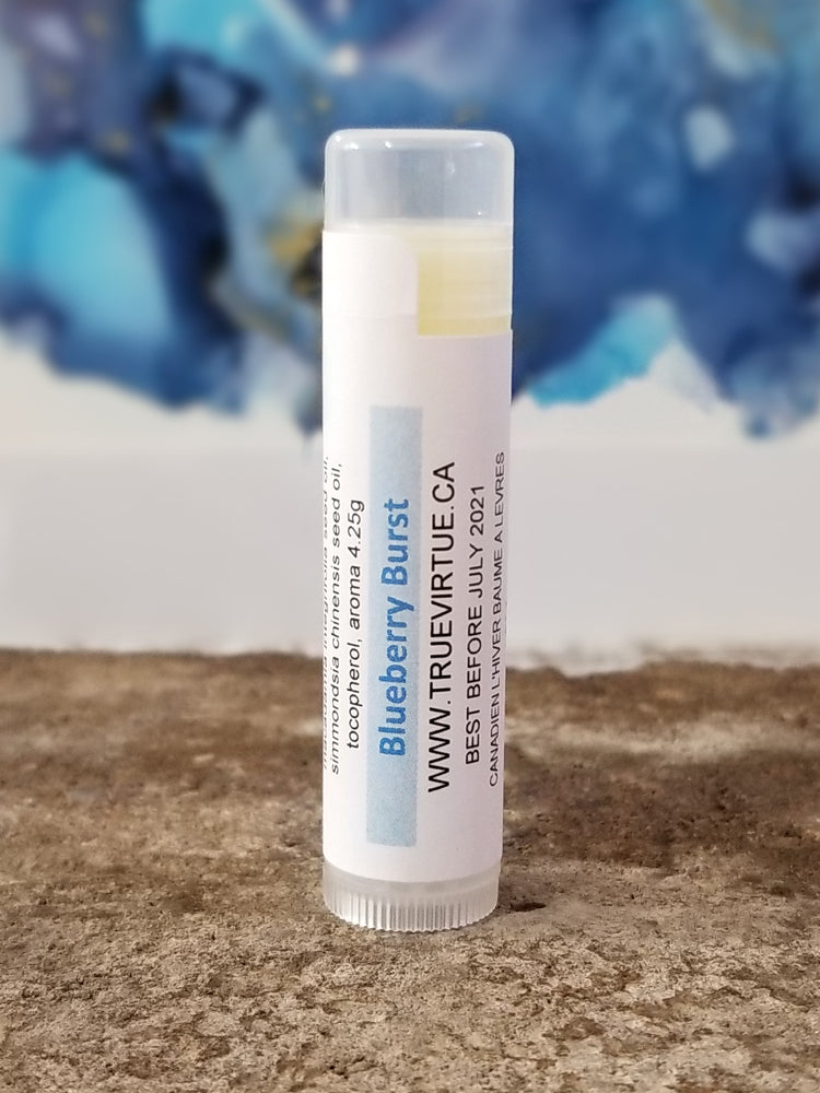 Load image into Gallery viewer, Canadian Winter Lip Balm - Blueberry Burst