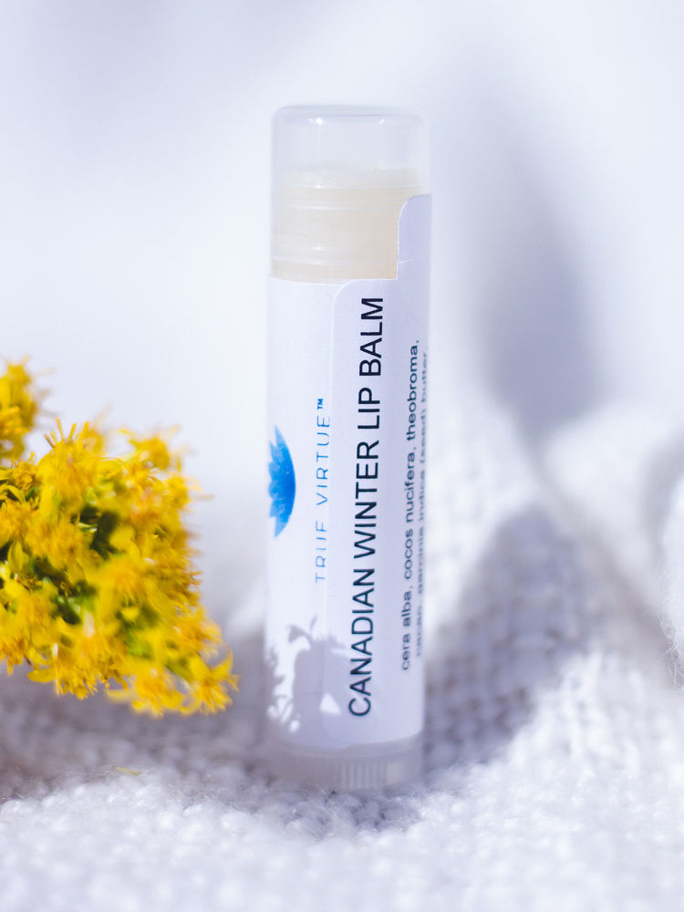 Canadian Winter Lip Balm - Peppermint Natural