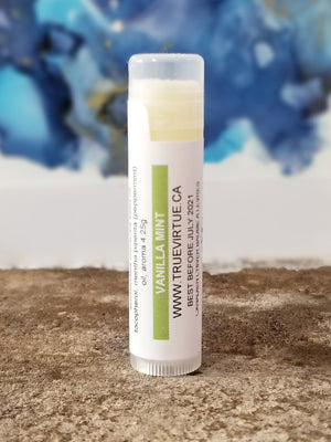Canadian Winter Lip Balm - Vanilla Mint Natural