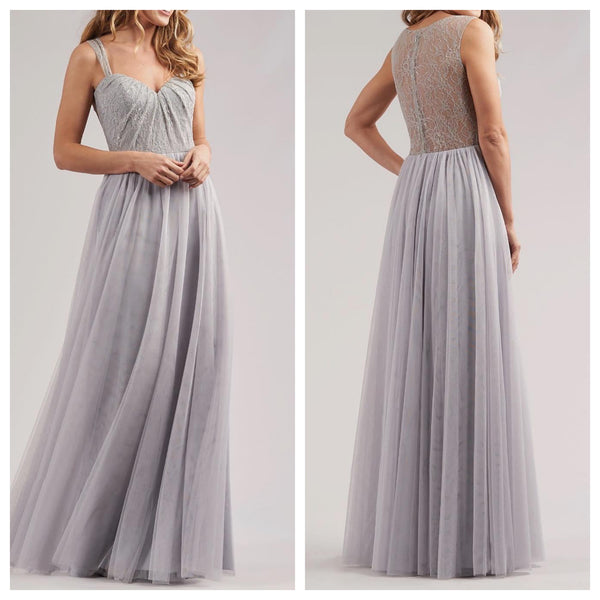 Sweetheart Lace and Tulle Bridesmaid Dress