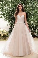 Ivory Lace and English Netting Ballgown