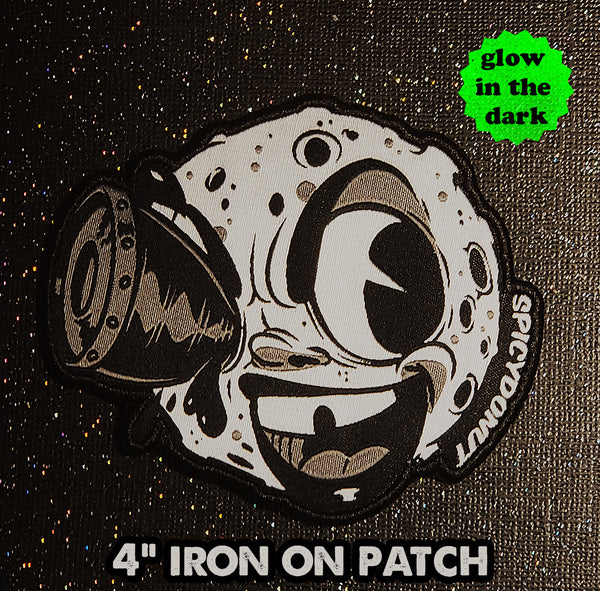 Man on the Moon Glow Patch